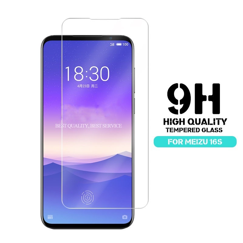 2.5D 9H Tempered Glass for Meizu 16s Screen Protector On The For Meizu 16XS Protective Film Glass Ca