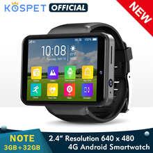 KOSPET NOTE 4G Smart Watch Men Dual Camera 2.4