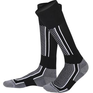 Skiing Socks Cold Weather Boot Sock for Skiing Snowboarding Men Women Winter Warmest-Best Lightweight High Performance Wool Sock