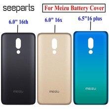 100% Nieuwe Batterij Cover Voor Meizu 16th 16X16 Plus Rear Behuizing Back Case 16 Plus Batterij Cover Vervanging deel