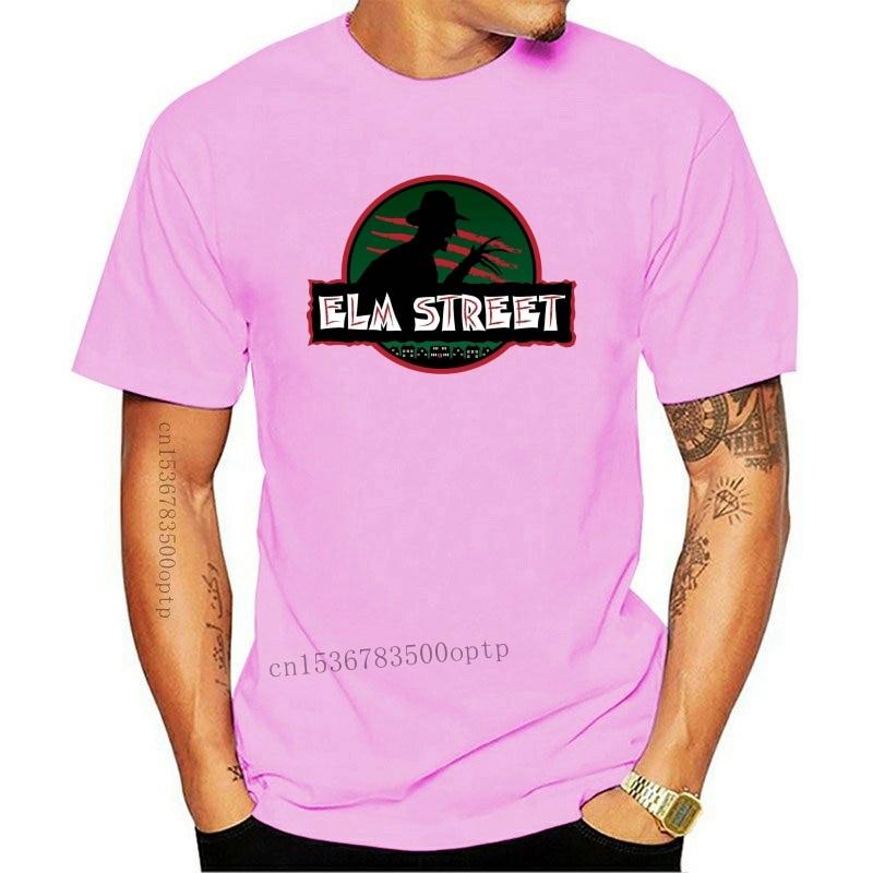 New Elm Street Freddie Krueger Funny Logo Men Black T-Shirt Size S M L XL 2XL 3XL