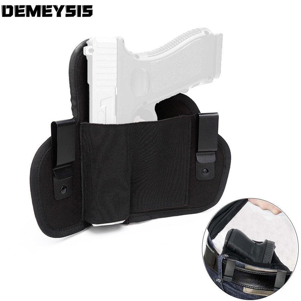 Pistolera táctica Universal para pistola, funda para pistola con cinturón de mano derecha/izquierda para Glock 19 23, compacto XD DE MONTREAL, compacto S & W M & P 9/40