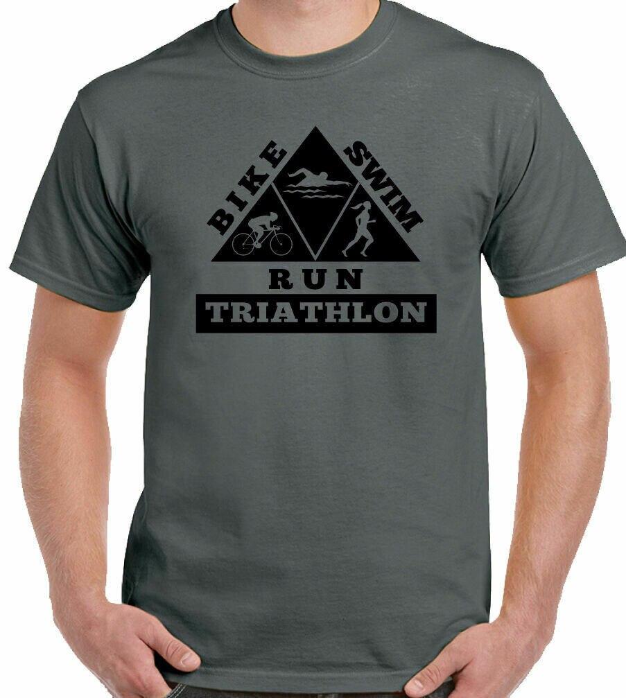 Camiseta de triatlón para hombre para correr y nadar hierro hombre deporte......