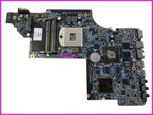 Top qualité, pour ordinateur portable hp carte mère DV6-6000 659150-001 DDR3 HD6470M 1G carte mère dordinateur portable, 100% testé 60 jours de garantie