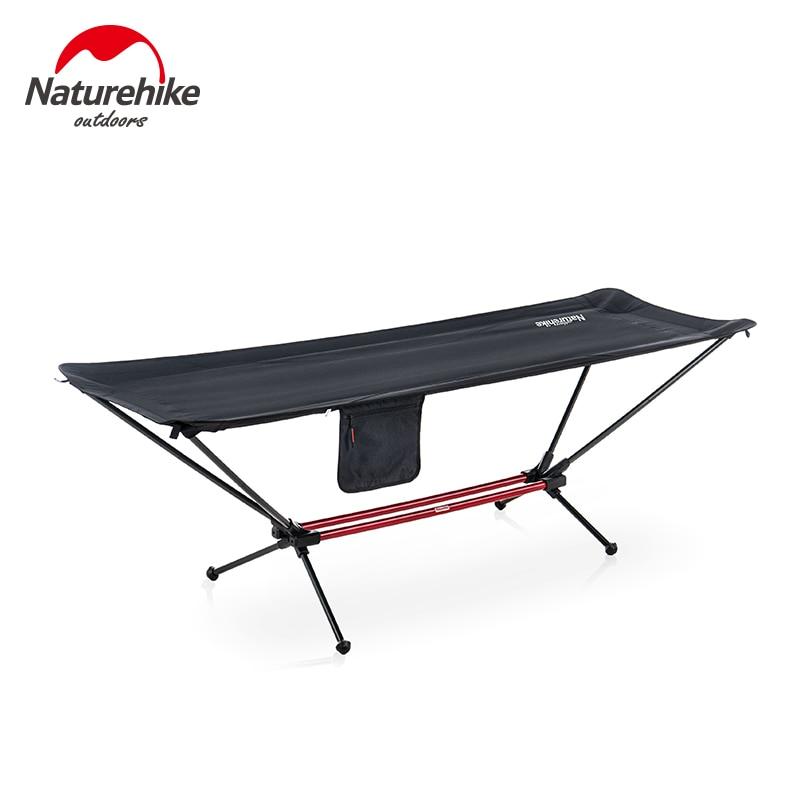 Naturehike-سرير أرجوحة للتخييم في الهواء الطلق ، أرجوحة مفردة قابلة للطي ، سرير أرجوحة محمول من سبائك الألومنيوم NH20JJ011
