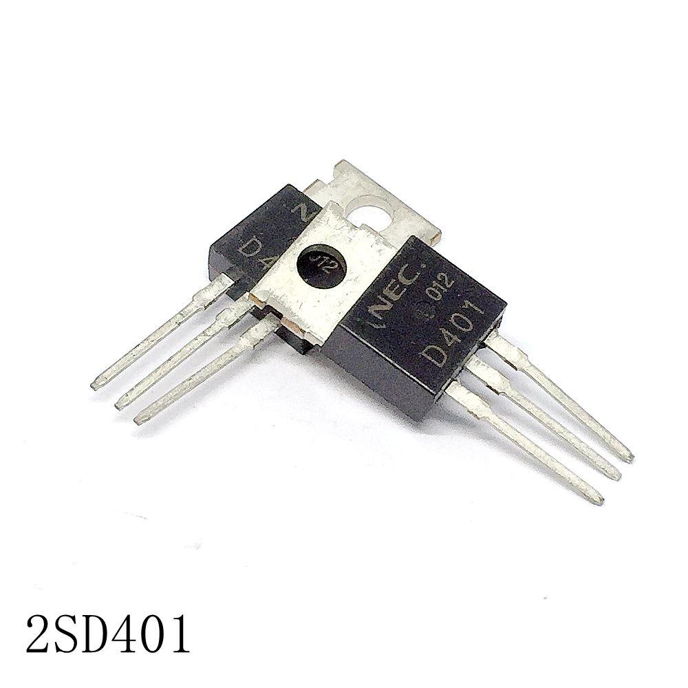 Transistor 2SD401 à-220 2A/150V, 10 pièces/lot, nouveau, en stock