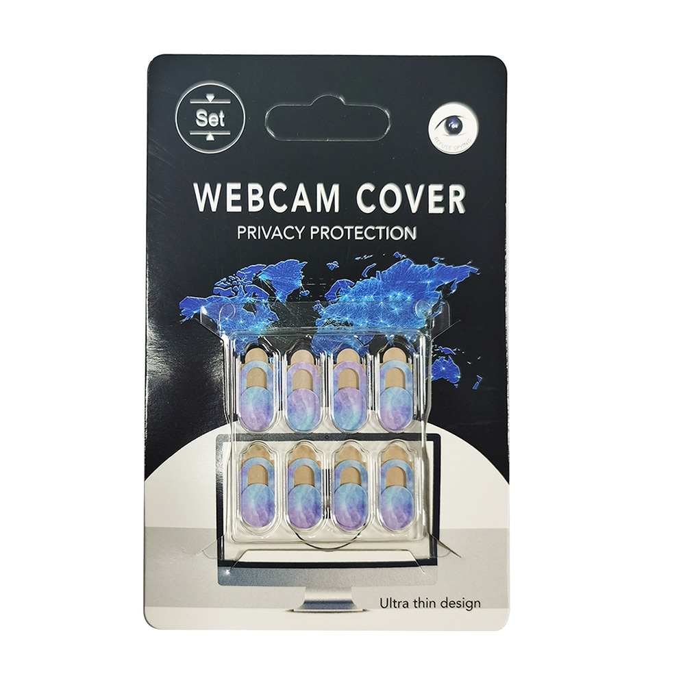 Camera Privacy Cover Star Style Privacy Sticker Laptop Stickers Smart Phone Privacy Protection Shutter Slider Sticker