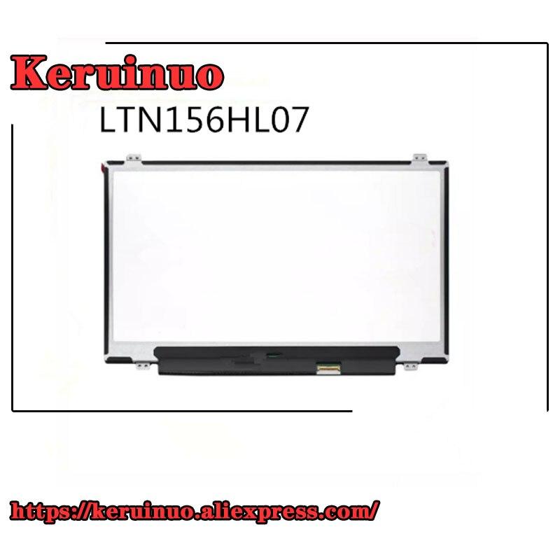 Светодиодный экран 15,6 дюйма FHD IPS LTN156HL07, подходит для N156HCE-EBA/EAA LTN156HL02 LP156WF6-SPA1/B1 B156HAN01.1/01,2