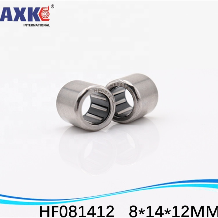 10 Uds., 8X14X12mm, rosca de tornillo HF081412, FC-8, copa de una forma, cojinete de aguja/tipo de carcasa de embrague