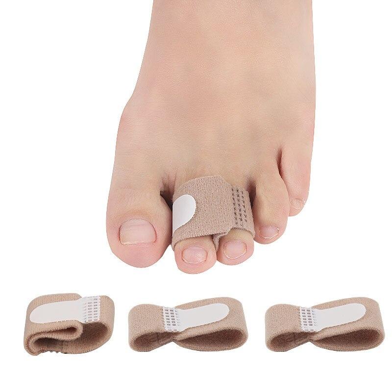 Enderezador de dedo del pie, 1 Uds., Corrector de dedo del pie, vendaje de Hallux Valgus, separador de dedos, envolturas de férula, cuidado de los pies