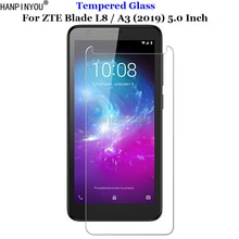 For ZTE Blade L8 Tempered Glass 9H 2.5D Premium Screen Protector Film For ZTE Blade A3 (2019) 5.0