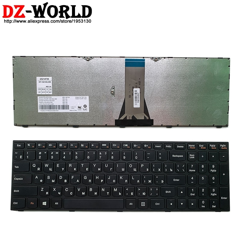 Новый Оригинальный русский ноутбук клавиатура для lenovo G50-70 45 80 30 G51-35 G70-80 70 E50-70 80 B50-70 45 30 80 серии 25214736