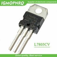 10 pièces L7805CV L7805 KA7805 MC7805 Régulateur De Tension 5 V 1.5A À-220 nouveau original