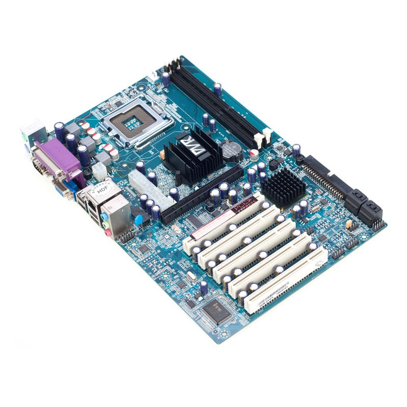 G41 placa base industrial con 5PCI COM LTP PS/2