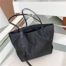 Women Bags Large-capacity Casual Totes Fashion Solid Color Zipper and Hasp Large Shoulder Handbags S