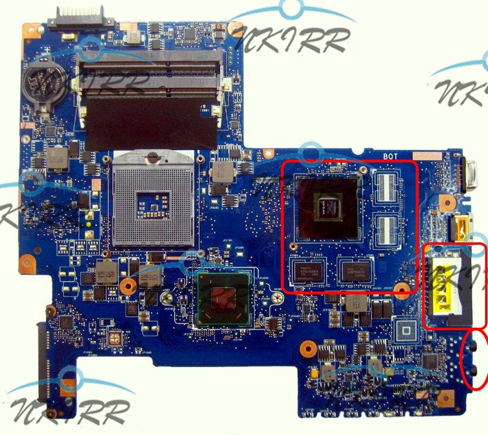 BS_R/TK_R 08N1-0NA1J00 08N1-0NA1G00 08N1-0NA1Q00 H000033490 H000036040 placa base para Toshiba Satellite C670 C675 L770 L775