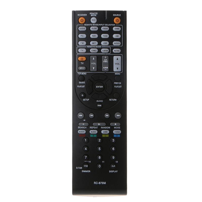 RC-879M Replaced Remote Control Controller for Onkyo AV Receiver TX-NR535 TX-SR333 HT-R393 HT-S3700