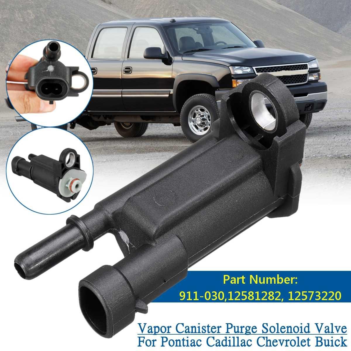 Électrovanne Pontiac pour Cadillac   Pour vapeur cartouche de Purge, électrovanne pour Chevrolet pour Buick #911-030 12581282, 12573220