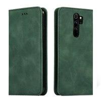 Redmi Note 8T 8Pro 9 Pro Max Leather Solid Flip Cover for Xiaomi Redmi Note 8 Pro Case Funda Redmi Note 9s T8 8 T 8A Wallet Case