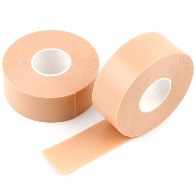 Nouveau 3 rouleau/lot Extension de cils non pelucheux coussinets pour les yeux blanc brun ruban sous les tampons pour les yeux papier pour faux cils Patch outils de maquillage