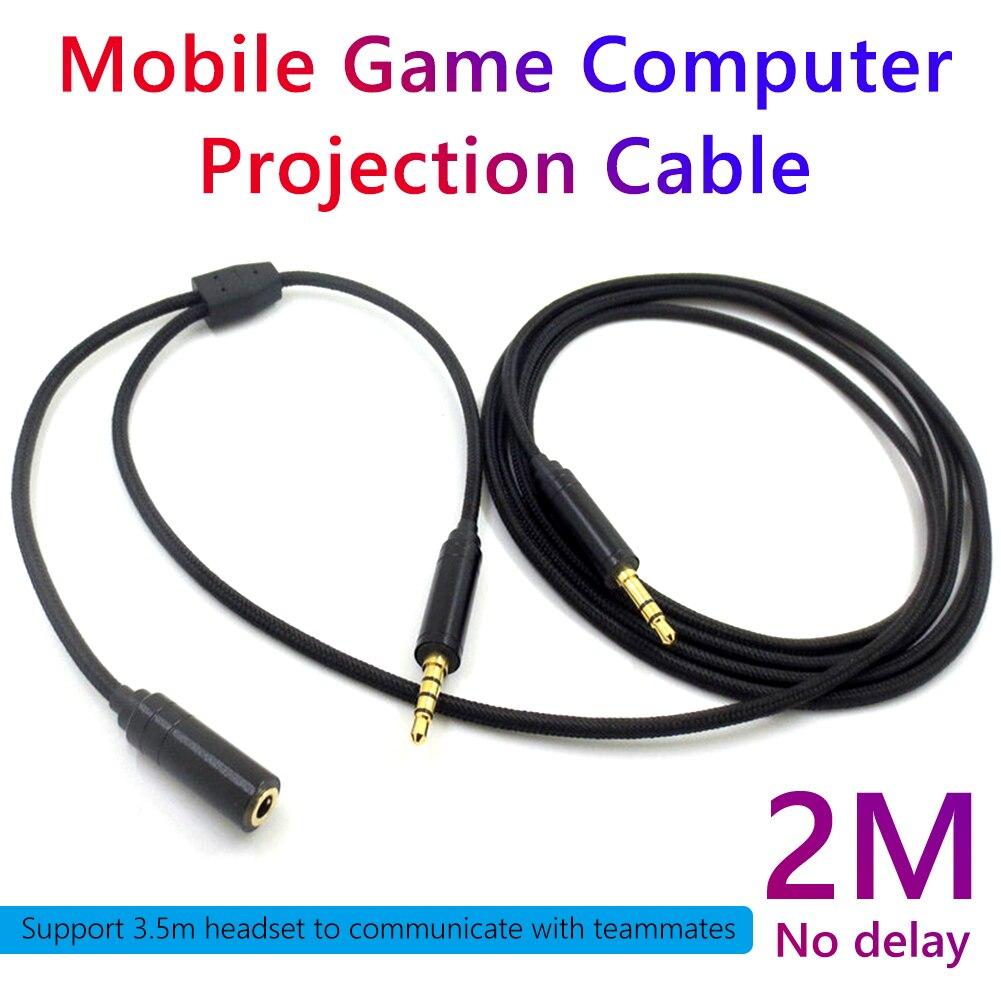 Cable adaptador de Audio para PS4 PlayStation 4/Xbox One/Nintendo Switch, 2m, Compatible...