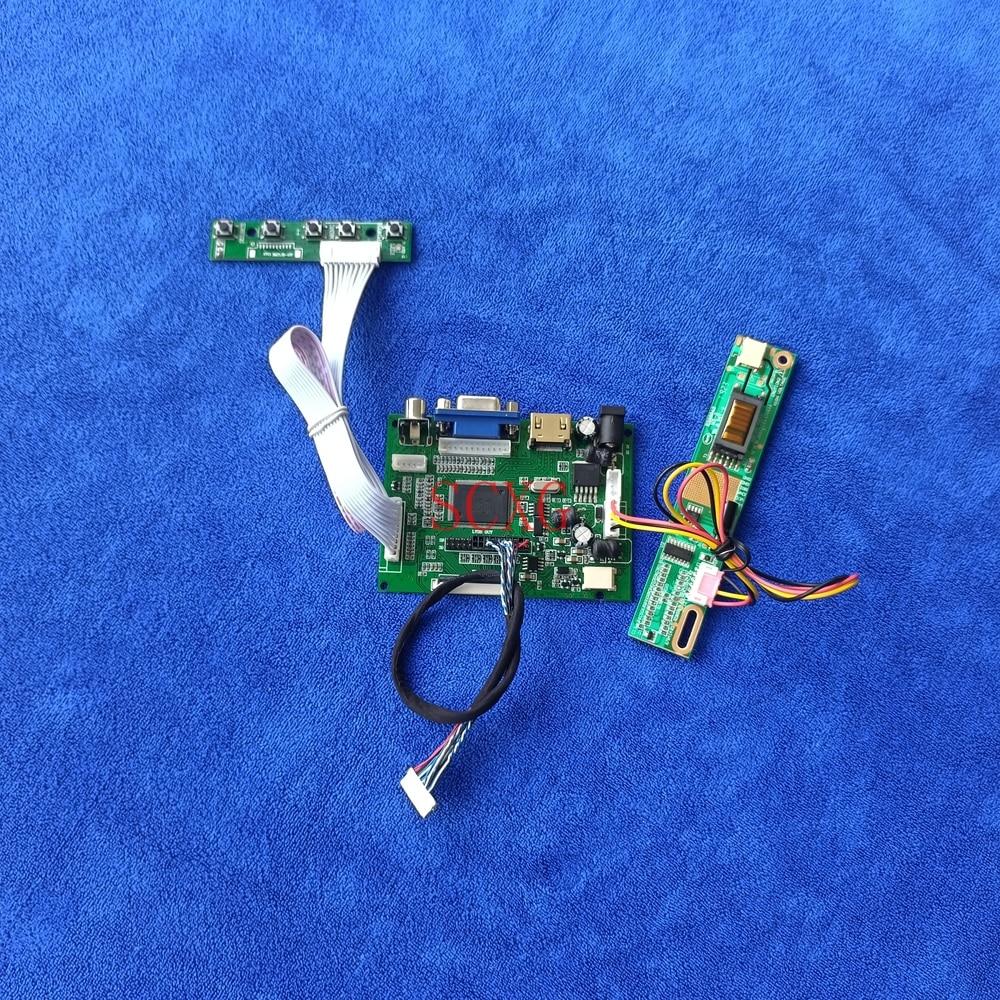 1CCFL HDMI-متوافق VGA 2AV ل TM133XG-02L06 TM133XG-A01/A02 شاشة الكريستال السائل تحكم لوحة للقيادة LVDS 20-دبوس DIY Kit1024 * 768