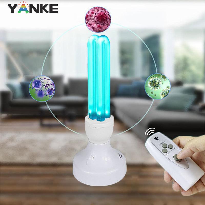 15W 25W UV lamp Quartz Germicidal Disinfection UVC CFL Ozone LED Light bulb Ultraviolet Sterilizer bacterial Kill Mite Home lamp недорого