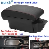for toyota 86 armrest for subaru brz car armrest box right hand drive for scion fr s frs gt86 2012 2020 storage box auto parts