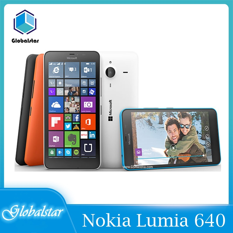 Nokia Lumia 640 reacondicionado Original Microsoft Lumia 640 Quad-core 8GB ROM 1GB...