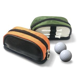 Golf Pouch Bag Practical Well-designed Faux Leather Golf Waist Pack for Sport profession Portable High capacity