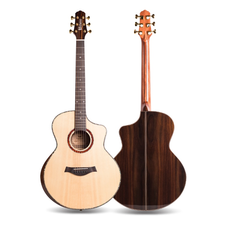 Bullfighter K5 Spruce Wood 41 Inch Affordable OEM Acoustic Guitar Solid Top