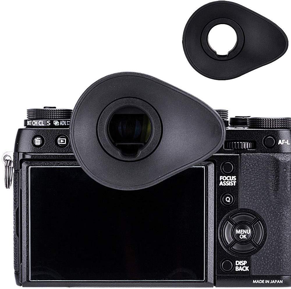 Eyecup visor ocular para Fujifilm GFX 50s X-T1 X-T2 X-T3 X-H1 XT3 XT2 XT1 XH1 reemplazar ojo taza EC-XT L M S EC-GFX EC-XH W
