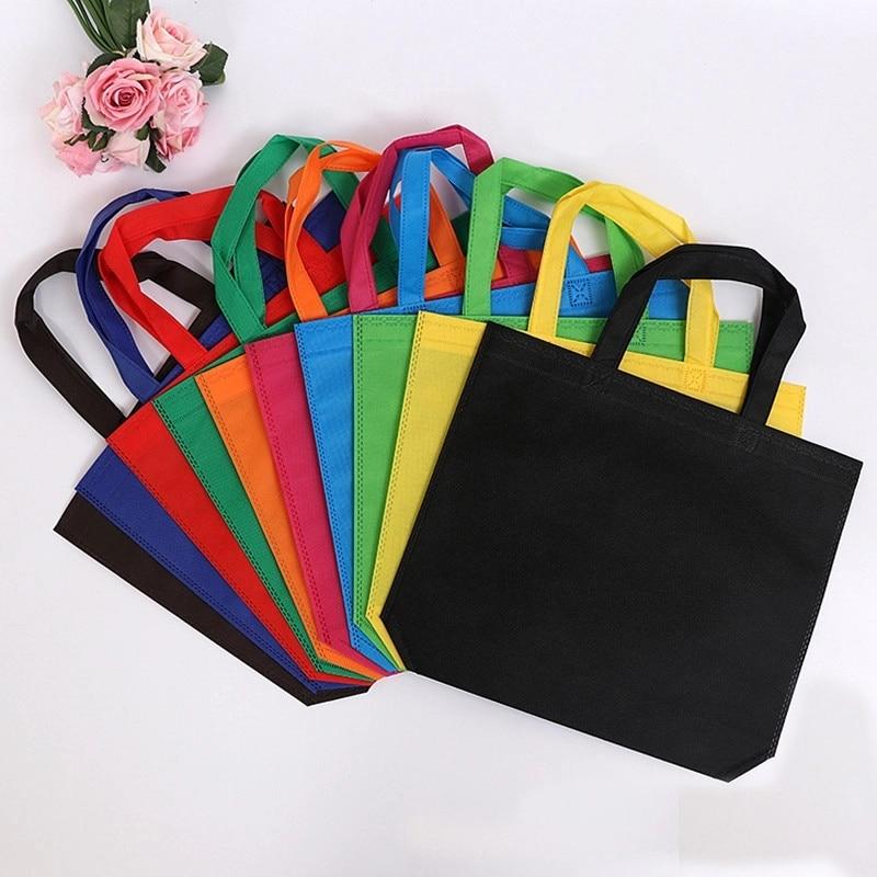 20 шт. нетканые сумки для покупок, эко-рекламные сумки Recyle, сумки-тоуты с напечатанным логотипом на заказ