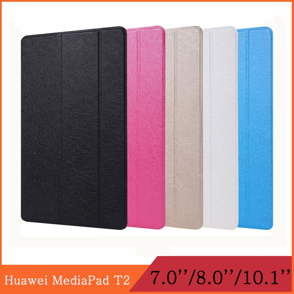 Funda for Huawei MediaPad T2 7 8 10 Pro 7.0 8.0 10.1 PLE-703L/701L JDN-W09/AL00 FDR-A01L/A01W/A03L flip cover stand tablet case