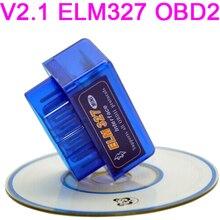 DVD de voiture Windows Symbian   Mini ELM327 OBD2 OBDII ELM 327 Bluetooth V2.1 outil de Diagnostic pour voitures multi-marques