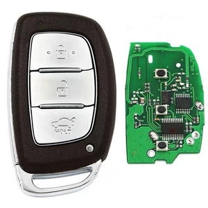 XRSHKEY 2PCS/Lot Keyless Remote Key 3 button with 434MHZ with 47 chip Car Remote Controller for Hyndai