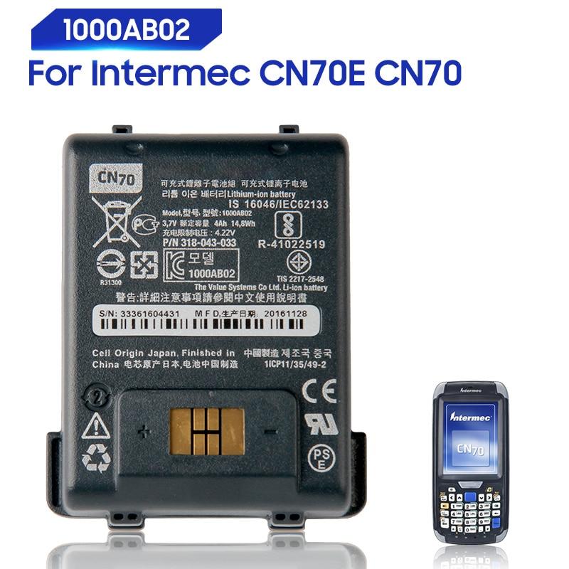new genuine battery 4000mah for condor bt621 battery Original Replacement Battery For Intermec Honeywell 318-043-033 CN70E CN70 1000AB02 Genuine Battery 4000mAh