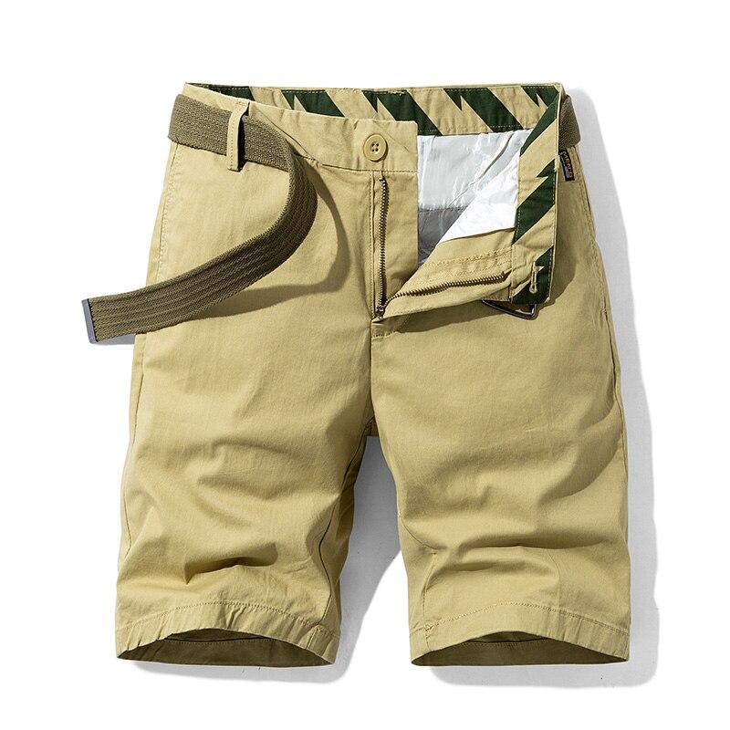 AIRGRACIAS, тонкие повседневные штаны, шорты, комбинезоны, летние мужские штаны, 2021, новые молодежные высококачественные хлопковые однотонные шт...