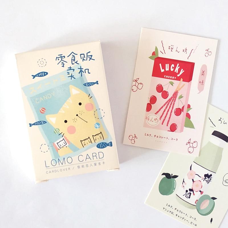 mini-tarjeta-de-papel-de-gato-y-aperitivo-lomo-tarjeta-de-felicitacion-tarjeta-de-regalo-de-cumpleanos-28-hojas-juego
