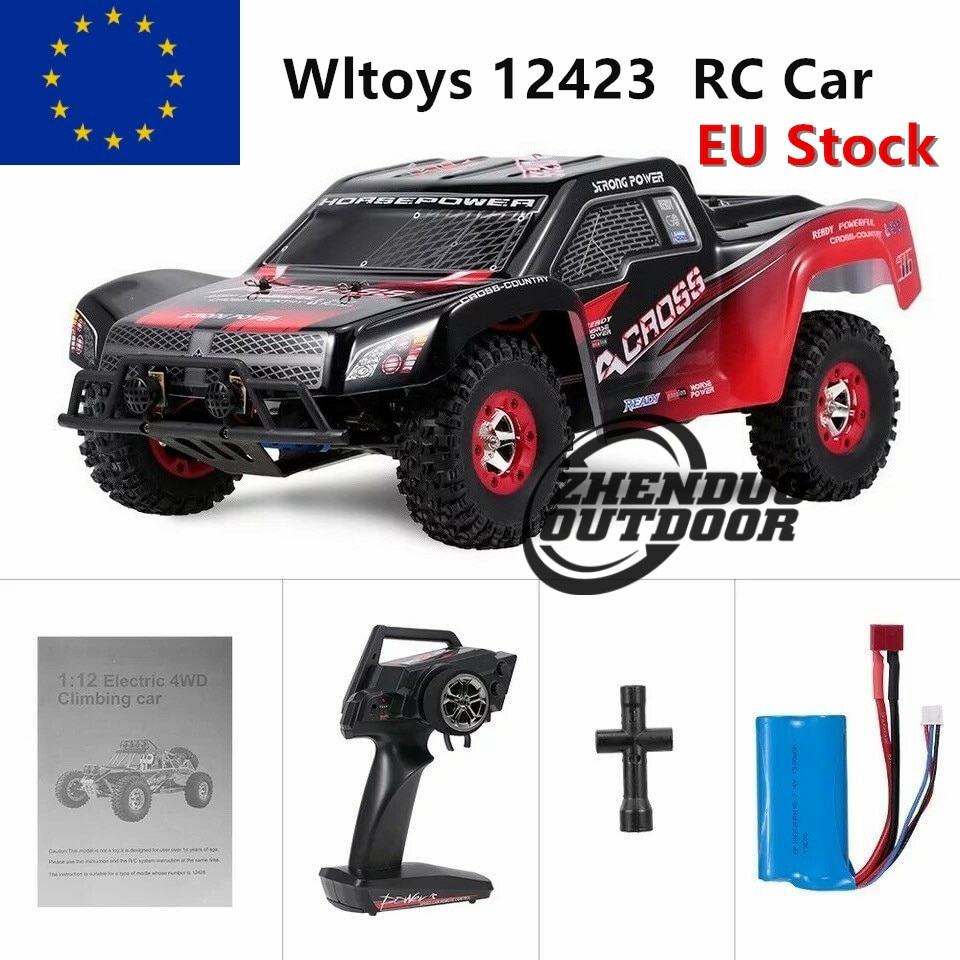 Wltoys 12423 50km/h Short Course Truck 1/12 2.4G 4WD Toy Car