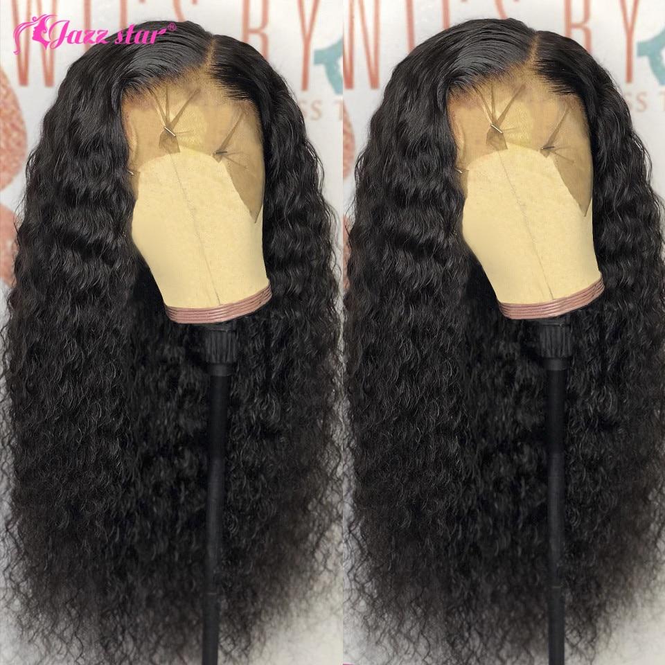 جاز ستار-شعر مستعار برازيلي طبيعي غير ريمي ، شعر مموج عميق ، 13 × 4 ، منتف مسبقًا ، للنساء