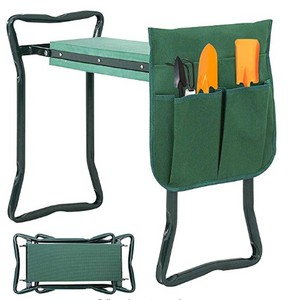 Newest Folding Garden Kneeler and Seat EVA Foam Pad Protects Your Knees - Sturdy and Lightweight