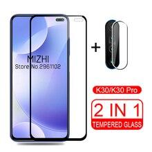 2 in 1 camera glass for xiaomi redmi k30 protective glass for xiaomi redmi k30 k 30 30k xiomi redmik