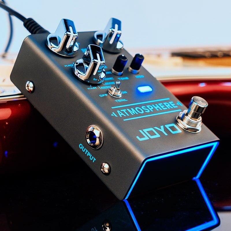 JOYO R-14 Atmosphere- Reverb Pedal Multi Effect Pedal for Electric Guitar Bass Digital Reverb Pedal PLATE CHURCH SPRING COMET enlarge