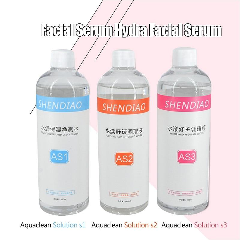 محلول التنظيف المائي للجلد ، محلول تنظيف الوجه ، مصل للوجه ، محلول تقشير بالماء ، محلول تجميل سائل