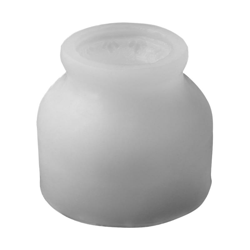 Flower Pot Resin Silicone Mold Succulent Plant Concrete Cement Plaster Molds 87HC
