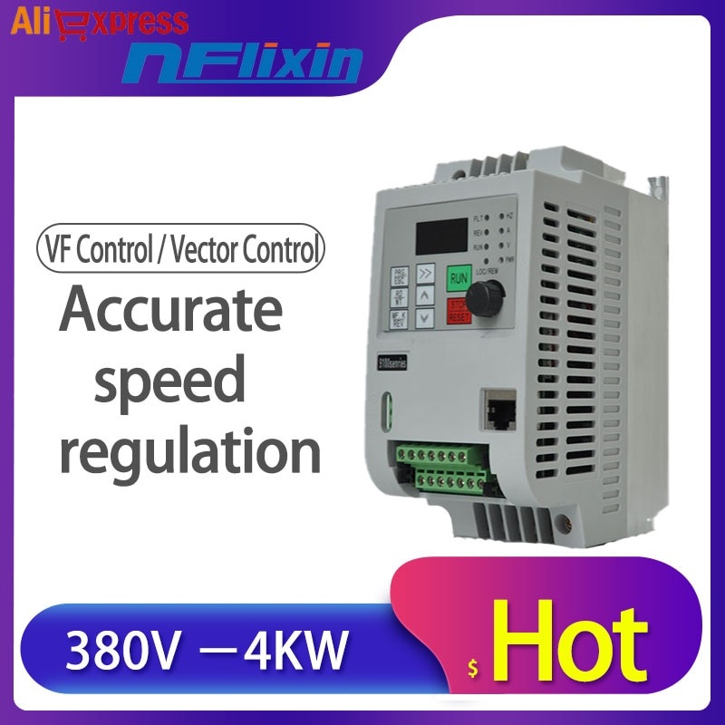 ¡Envío Gratis! Nuevo 380V 4KW 3 Fase 380V de entrada de 3 Fase 380V de salida para PID ahorro de energía/para bomba de agua