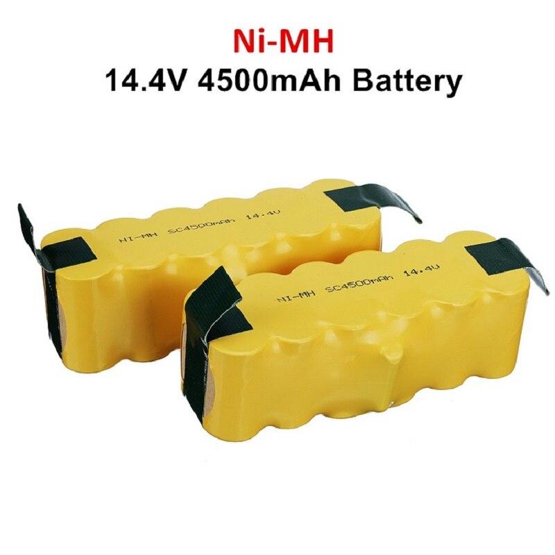 Bateria de Substituição Aspirador de pó Atualizar Estendida-para Irobot Roomba 500 600 700 800 Series 785 530 560 650 14.4v 4500mah