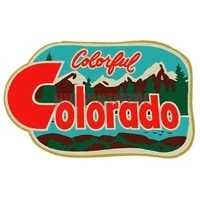 car stickers vinyl motorcycle decal car window body decorative colorful colorado travel decal occlusion scratch
