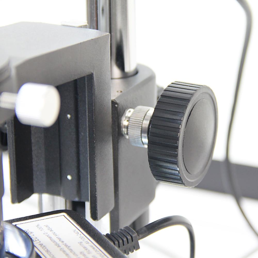 TBK Professional Microscope Desktop Microscope 10A HD 10~180x Professional for Iphone BGA CPU Maintenance Industrial Video enlarge